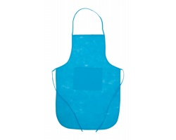 Kuchařská zástěra CHEF z netkané textilie - světle modrá