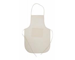 Kuchařská zástěra CHEF z netkané textilie - béžová