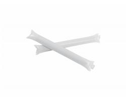 Nafukovací tyče na fandění TORRES, 2 ks - bílá