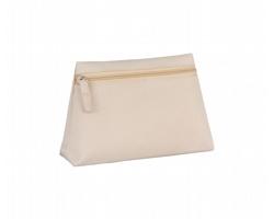 Polyesterová kosmetická taška BRITNEY - béžová