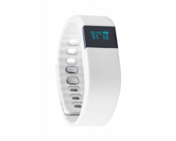 Silikonové chytré hodinky WESLY - bílá