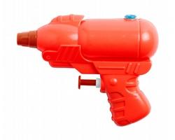 Plastová vodní pistolka DAIRA - červená