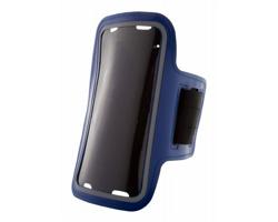 Obal na mobil na paži KELAN z PU kůže - modrá