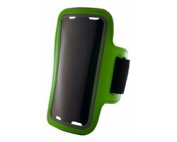 Obal na mobil na paži KELAN z PU kůže - zelená