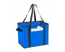 Skládací organizér do kufru auta NARDELLY z netkané textilie - modrá