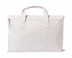 Bavlněná taška na dokumenty KARMUL - přírodní