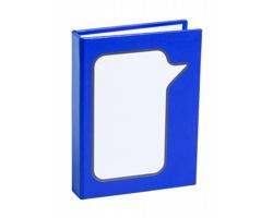 Samolepicí lístky na poznámky DOSAN v recyklovaném obalu - modrá