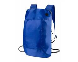 Polyesterový skládací batoh SIGNAL s otvorem na kabel - modrá