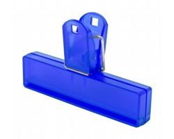 Plastový klip na uzavření obalu FLINT - modrá