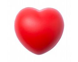 Antistresové srdíčko VENTRY - červená
