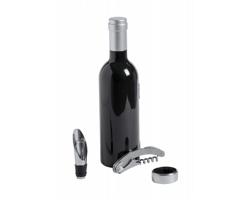 Sada na víno SOUSKY ve tvaru lahve - černá / červená