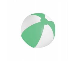 Plážový míč (o28 cm) PLAYO - bílá / zelená