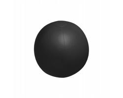 Nafukovací plážový míč PLAYO, průměr 28 cm - černá
