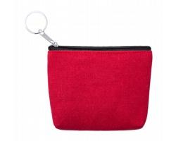 Plátěná peněženka KANER - červená