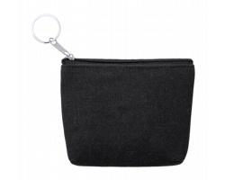 Plátěná peněženka KANER - černá