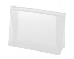 Plastová kosmetická taštička IRIAM - bílá