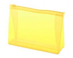 Plastová kosmetická taštička IRIAM - žlutá
