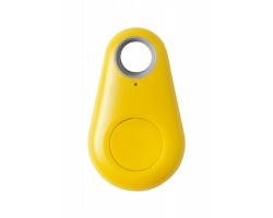 Plastový hledač klíčů KROSLY s bluetooth - žlutá