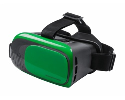 Brýle pro virtuální realitu BERCLEY - zelená / černá