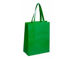 Látková nákupní taška CATTYR s dlouhými držadly - zelená