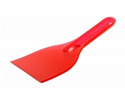 Plastová škrabka na led FENIOK - červená