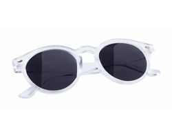Plastové sluneční brýle NIXTU - transparentní