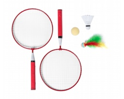 Sada na badminton DYLAM - červená