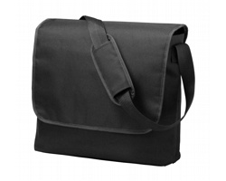 Polyesterová taška přes rameno SCARLETT - černá