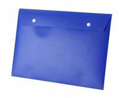 Plastové desky na dokumenty ALICE - modrá