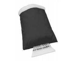 Škrabka na led DASHA s rukavicí - černá