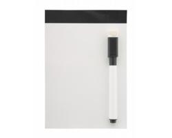 Magnetická tabulka YUPIT s fixem s houbičkou - černá / bílá