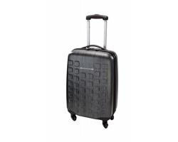 Plastový kufr na kolečkách TUGART - černá