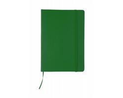 Poznámkový blok CILUX s deskami z PU kůže - zelená
