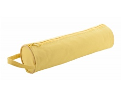 Polyesterové pouzdro na tužky CELES - žlutá