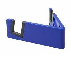 Plastový skládací stojánek na mobil LAXO - modrá / černá