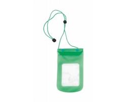 Plastové voděodolné pouzdro na mobil TAMY - zelená