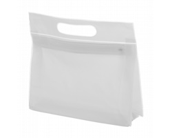 Plastová kosmetická taštička FERGI - bílá