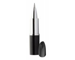 Plastové kuličkové pero LIPSY ve tvaru rtěnky - černá