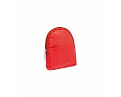 Polyesterová peněženka DODGE ve tvaru batohu - červená