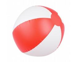 Nafukovací plážový míč WAIKIKI, průměr 23 cm - červená