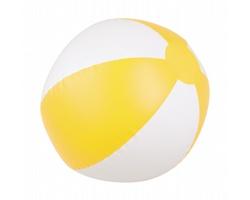 Nafukovací plážový míč WAIKIKI, průměr 23 cm - žlutá