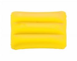 Plastový nafukovací polštář SUNSHINE - žlutá