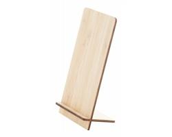 Bambusový stojánek na mobil FARGESIA - přírodní
