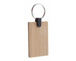 Bambusový přívěsek na klíče BAMBRY - obdélník