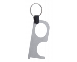 Kovový hygienický klíč NOTOUCH STEEL - stříbrná