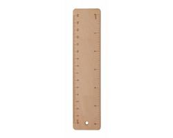 Dřevěné pravítko SIMLER, 15 cm - přírodní