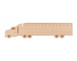 Dřevěné pravítko LOONEY - kamion