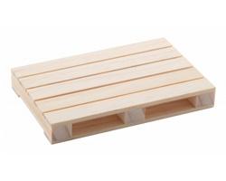 Dřevěný podtácek PALET ve tvaru palety - přírodní