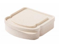 Plastový box na sendvič DREDON z bambusových vláken - přírodní