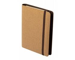 Korkové konferenční desky TOSKAN s bezdrátovou nabíječkou, formát A5 - přírodní